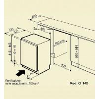 Винный шкаф IP Industrie CI 140 CF