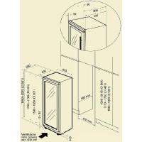 Винный шкаф IP Industrie CI 301 CF X