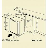 Винный шкаф IP Industrie CIR 140 CF Х