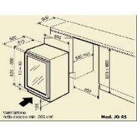 Винный шкаф IP Industrie JG 45-6 A CF
