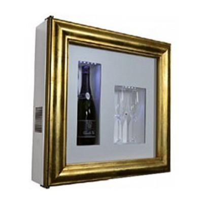 Настенная винная витрина IP Industrie QV12-B3150B